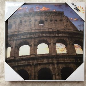 New in box The Colusseum canvas art